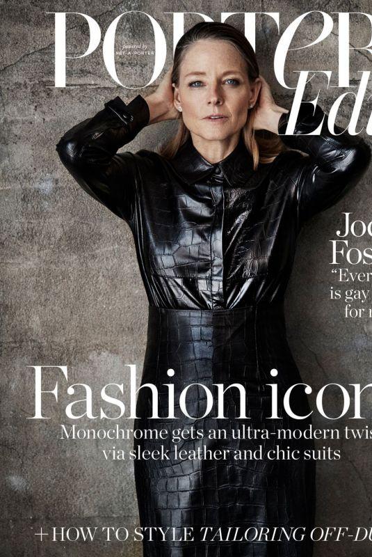 JODIE FOSTER for Porter Edit Magazine, July 2018