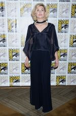 JODIE WHITTAKER at Doctor Who Presentation at Comic-con International in San Diego 07/19/2018