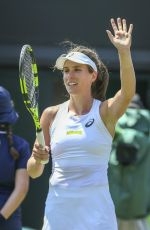 JOHANNA KONTA at Wimbledon Tennis Championships in London 07/03/2018