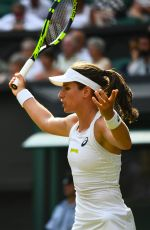 JOHANNA KONTA at Wimbledon Tennis Championships in London 07/05/2018