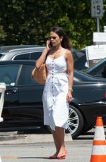 JORDANA BREWSTER Out for Iced Coffee in Los Angeles 07/17/2018