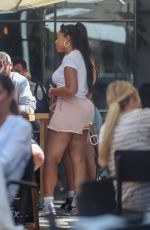 JORDYN WOODS at Zinque Cafe in West Hollywood 07/20/2018