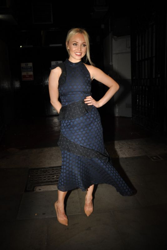 JORGIE PORTER Night Out in Manchester 07/26/2018