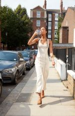 JOURDAN DUNN at Glaceau Amartwater Workout and Brunch in London 07/26/2018