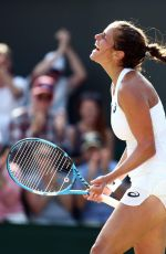 JULIA GORGES at Wimbledon Tennis Championships in London 07/07/2018