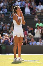 JULIA GORGES at Wimbledon Tennis Championships in London 07/10/2018
