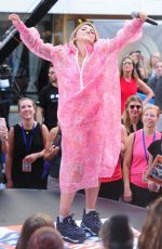 JULIA MICHAELS Performs at Today Show Citi Concert Series in New York 07/27/2018