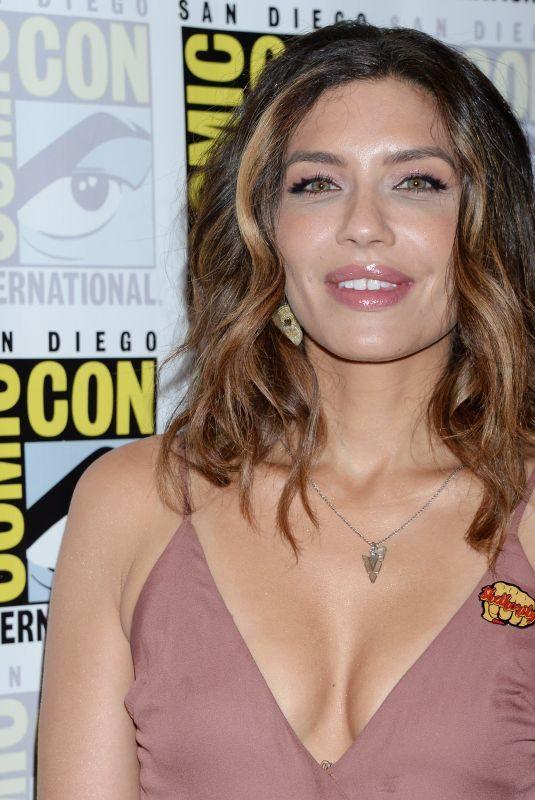 JULIANA HARKAVY at Arrow Press Call at Comic-con in San Diego 07/21/2018