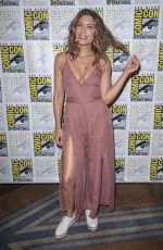 JULIANA HARKAVY at Arrow Press Call at Comic-con in San Diego 07/21/2018