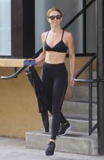 JULIANNE HOUGH in Tights Leaves Dance Class in Los Angeles 07/17/2018
