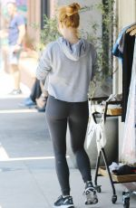 JULIANNE HOUGH Out Shopping in Los Angeles 07/03/2018