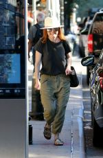 JULIANNE MOORE Out in New York 07/09/2018