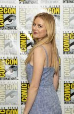 JUSTINE LUPE at Mr. Mercedes Photocall at Comic-con 2018 in San Diego 07/19/2018