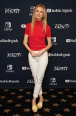 JUSTINE LUPE at Variety Studios at Comic-con 2018 in San Diego 07/20/2018