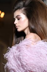 KAIA GERBER at Valentino Runway Show at Paris Fashion Week 07/04/2018