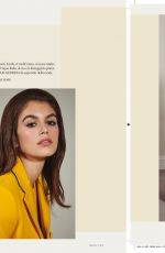 KAIA GERBER in Vogue Magazine, Italy July 2018