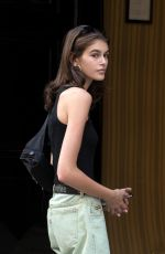 KAIA GERBER Out and About in Paris 07/03/2018