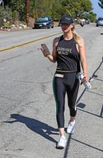 KALEY CUOCO in Tights Out in Los Angeles 07/19/2018