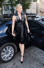 KARLIE KLOSS Arrives at Vogue Dinner Party in Paris 07/03/2018