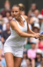 KAROLINA PLISKOVA at Wimbledon Tennis Championships in London 07/03/2018