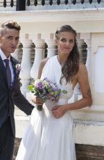 KAROLINA PLISKOVA Marries Michal Hrdlicka in Monaco 07/19/2018