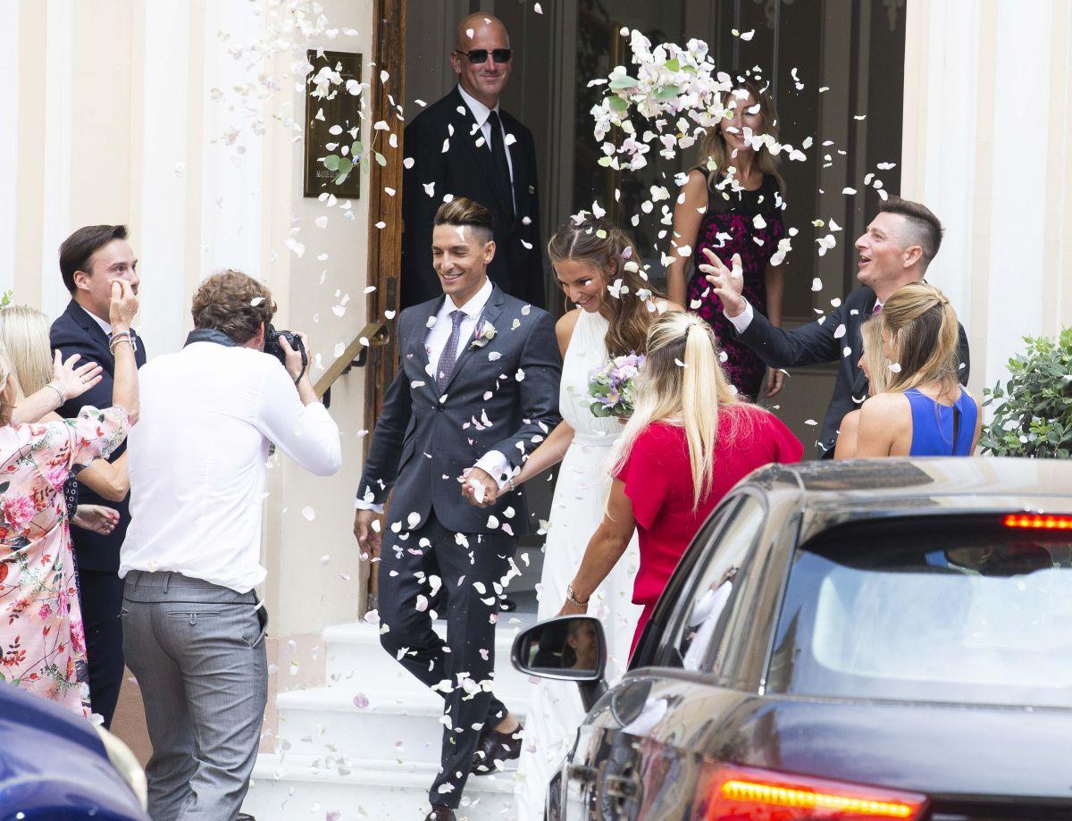 KAROLINA PLISKOVA Marries Michal Hrdlicka in Monaco 07/19 ...