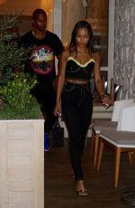 KARRUECHE TRAN at Avra in Beverly Hills 07/13/2018