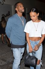 KARRUECHE TRAN in Ripped Jeans Leaves Delilah in West Hollywood 07/01/2018