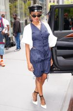 KAT GRAHAM Leaves SiriusXM Radio in New York 07/12/2018