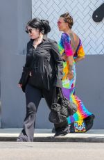 KAT VON D All in Black Out in Los Angeles 07/28/2018