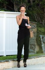 KATE BECKINSALE Out and About in Los Angeles 07/08/2018
