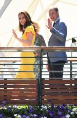 KATE MIDDLETON and Prince William at Wimbledon Tennis Championships in London 07/15/2018