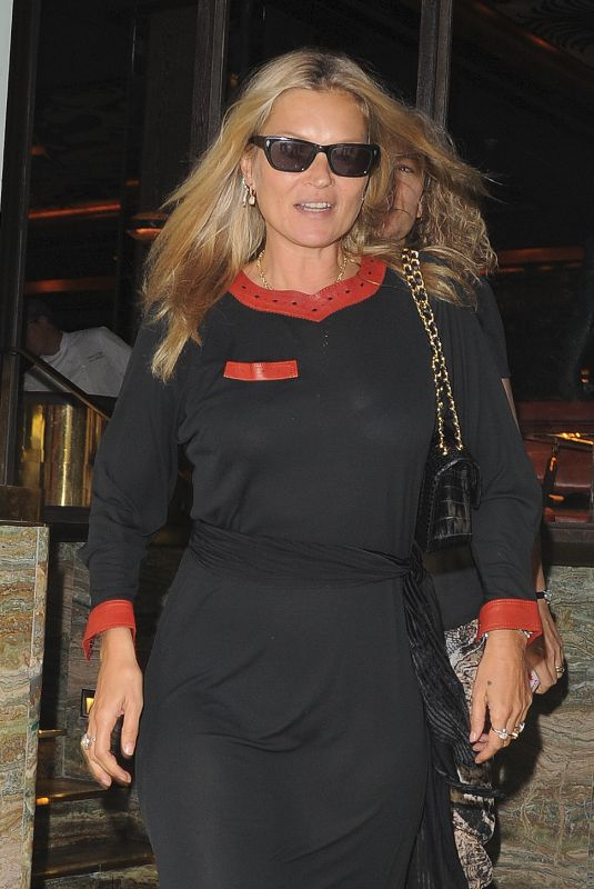 KATE MOSS at Sexy Fish Restaurant in London 07/11/2018