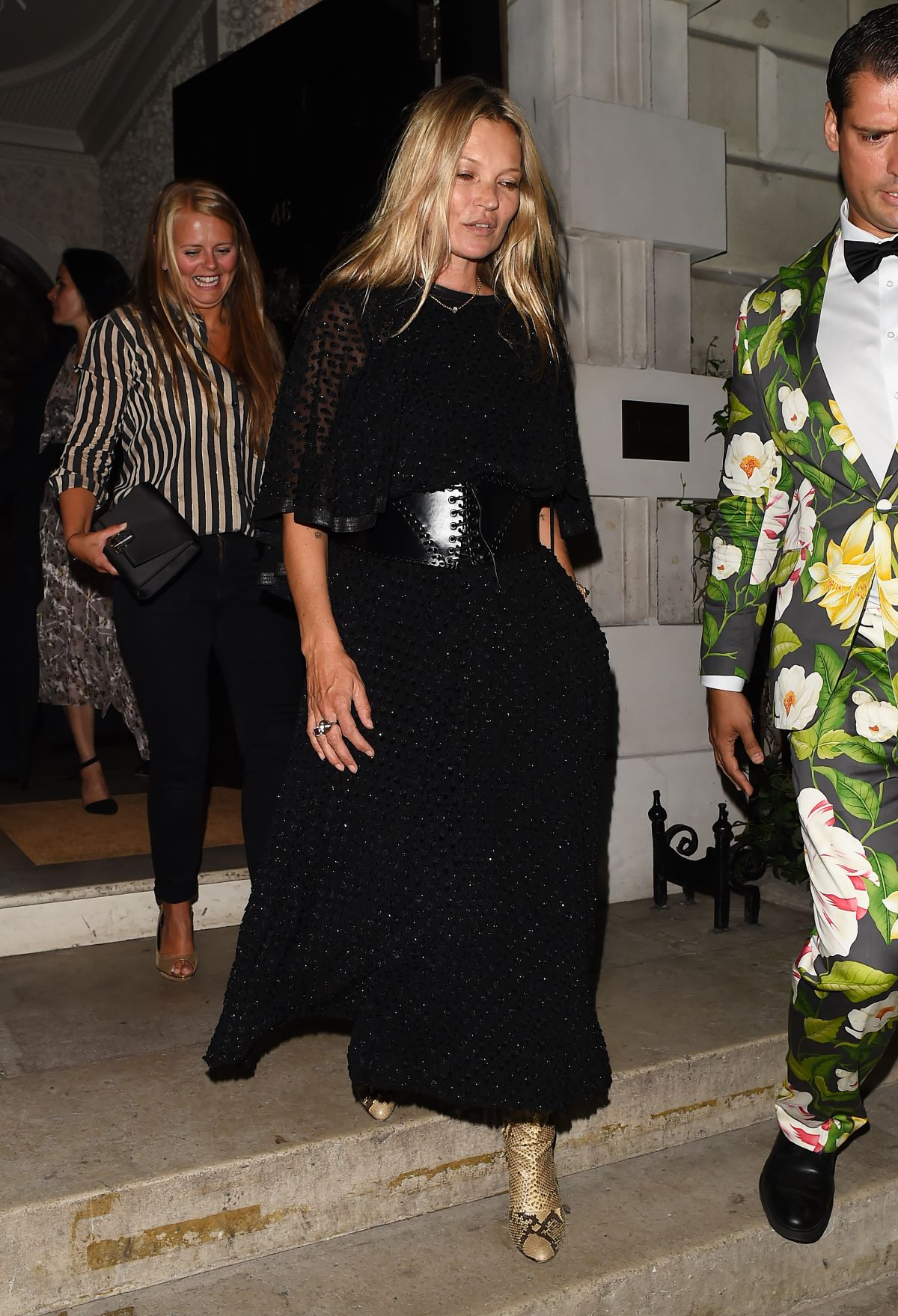 Kate Moss Leaves Annabels Members Club In London 07122018