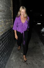 KATE MOSS Night Out in London 06/28/2018