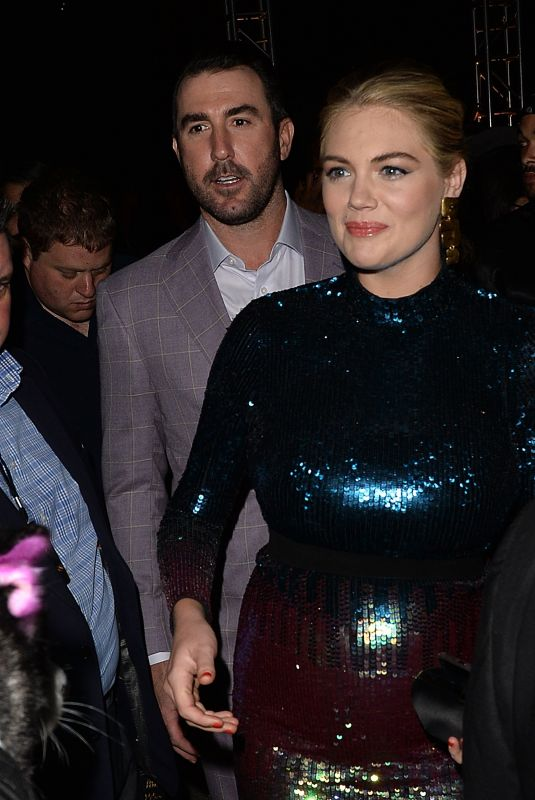 KATE UPTON and Justin Verlander at Maxim Hot 100 Experience in Los Angeles 07/21/2018