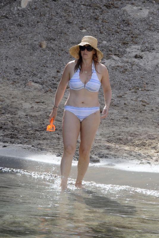 KATE WINSLET in Bikini on Vacation in Spain 07/01/2018