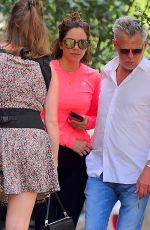 KATHARINE MCPHEE and David Foster Out in New York 07/05/2018