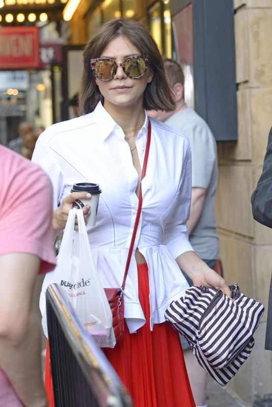 KATHARINE MCPHEE Out Shopping in New York 07/05/2018
