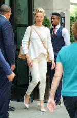 KATHERINE HEIGL and Josh Kelley Leaves Their Hotel in New York 07/13/2018