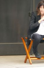 KATHERINE MOENNING on the Set of Ray Donovan in New York 07/05/2018