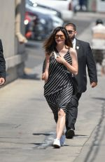 KATHRYN HAHN Arrives at Jimmy Kimmel Live in Los Angeles 07/11/2018