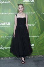 KATHRYN NEWTON at Amfar Paris Dinner at Paris Fashion Week 07/05/2018