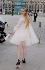 KATHRYN NEWTON at Dior Dinner at Place Vendome in Paris 07/02/2018