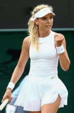 KATIE BOULTER at Wimbledon Tennis Championships in London 07/05/2018