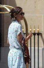 KATIE HOLMES Arrives at Her Hotel in Paris 07/01/2018
