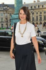 KATIE HOLMES at Dior Dinner at Place Vendome in Paris 07/02/2018