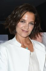 KATIE HOLMES at The Wife Premiere in Los Angeles 07/23/2018