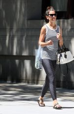 KATIE HOLMES Out Shopping in New York 07/19/2018