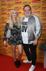 KATIE MCGLYNN at Fame the Musical Night Press in Manchester 07/26/2018